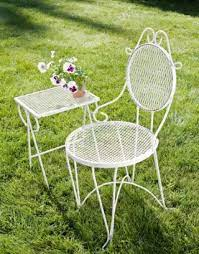 vintage iron patio furniture