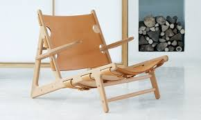 scandinavian leather chairs. Perfect Leather Scandinavian Design Chaise Longue  Leather Oak Solid Wood  And Leather Chairs S