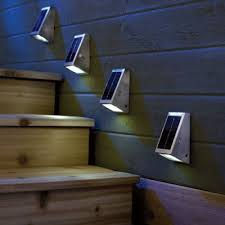 exterior lighting solar powered. solar powered outdoor stairway lights pertaining to light the several various type of lighting exterior r