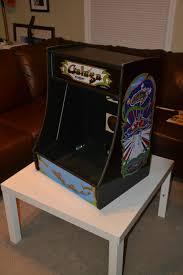 Cocktail Arcade Cabinet Kit Gameroom Designs Canada Cnc Cut Bartop Arcade And Pinball