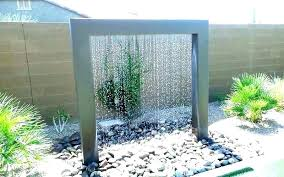 backyard water fountain ideas design outdoor with wall fountains indoor diy mini
