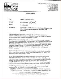 sample business memo memo formats sample business memo examples on 12 2004 former cogcc director rich griebling received a