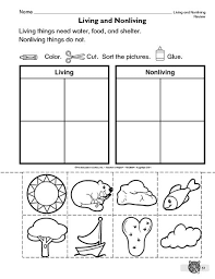 Venn Diagram Living And Nonliving Things Living Nonliving Things Living Nonliving First Grade