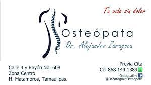 Osteopathy Dr Zaragoza - Medical & Health - Matamoros, Tamaulipas - 3  Photos | Facebook