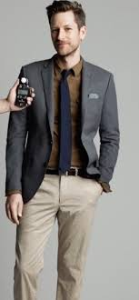 What color dress pants go well with a brown shirt?