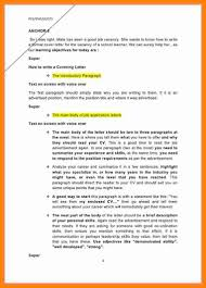 6 Introduction Letter For A Job Assembly Resume