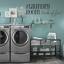 Decor Designs Decals Mesmerizing Loads Of FunLaundry Room Wall Decal Laundry Rooms Laundry And