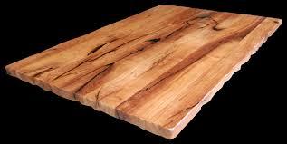 custom wood countertop light color wood edge grain