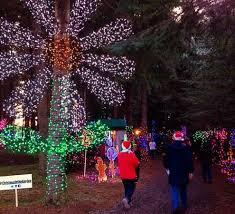 Christmas in the Garden - Picture of Oregon Garden Resort ...