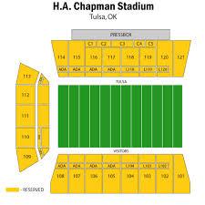 Tu Football Stadium Seating Chart Tickets Houston Cougars Football At Tulsa Golden Hurricane