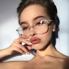 New <b>fashion</b> gold <b>glasses</b> frames men women <b>eyewear</b> vintage ...