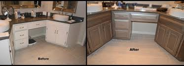 Bathroom vanity refinish - Traditional - Bathroom - Kansas City ...