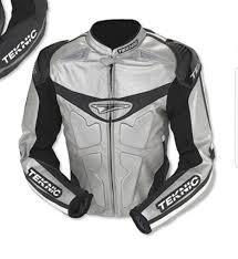 Teknic Violator Leather Jacket Size M Motorbikes Motorbike
