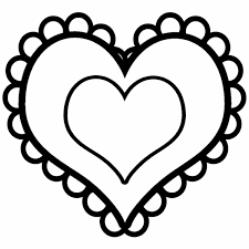 Love how the last heart is colored red in the be mine printable. Valentine Heart Coloring Pages Best Coloring Pages For Kids