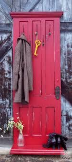 Red Coat Rack Coat Rack Made From An Old Door Hometalk 85