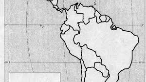 North And South America Blank Map Texpertis Com Empty Map Of Latin America Free Blank Map Of