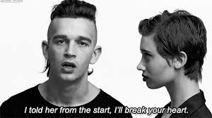Girls The 1975 Lyrics Quote Black And White Quotes Bw Gif The 1975 Misbeliever
