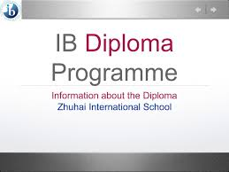 ib diploma programme information about the diploma ppt  ib diploma programme information about the diploma