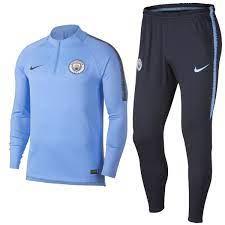 Manchester City FC Technical Trainingsanzug 2018/19 hellblau - Nike