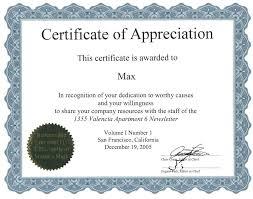 Appreciation Certificates Wording Inspiration Appreciation Certificate Template Word Of Achievement Wording Award