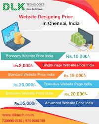 Website Design Price In Chennai Dlktechnologies Is A Best Web Design Company In Chennai We