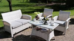 white garden furniture. Garden Furniture White Rattan