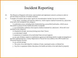 Ow To Write An Incident Report Letter Sample Download Our Of 7