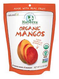 Natierra Nature's <b>Organic Freeze</b>-<b>Dried Mangoes</b> | <b>1.5</b> Ounce - Yoybuy