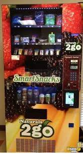 Naturals To Go Vending Machines For Sale Cool SEAGA NTG48 Naturals 48 Go Healthy Vending Machines For Sale In Texas