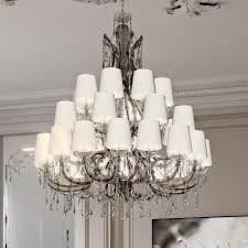 large exclusive italian crystal chandelier