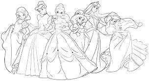Princess Coloring Pages Frozen Zupa Miljevcicom