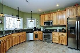 hickory cabinet hardware kitchen unfinished wood cabinets paint colors with natural