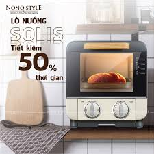 BH 6 Tháng] Lò Nướng Điện Đa Năng Solis - Mini 9 Lít - Nhiều Khay - Nướng  Bánh Mì - Làm Đồ Ăn Sáng - Công Suất 1000W tại TP. Hồ Chí Minh