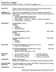 Resume On Google Docs Simple 40 Google Docs Resume Template To Ace Your Next Interview