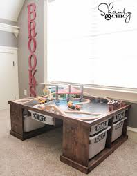 Train Set Table With Drawers Diy Train Or Lego Table Shanty 2 Chic
