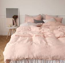 dusty pink duvet cover sweetgalas