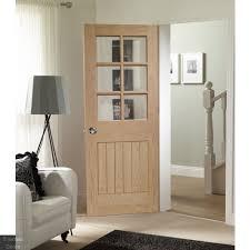 suffolk oak glazed internal door