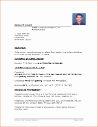 Resume Vitae Sample In Word Format Free Download Refrence Ebook