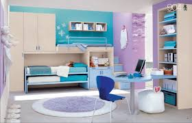 teenage girls bedroom ideas blue. Bedroom. Exquisite Purple And Blue Themed Bedroom With Adjoining Wardrobe Combined Wth Room Office Teenage Girls Ideas