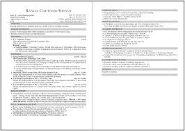 Examples Of 2 Page Resumes Two Resume Format Example 2017 Very