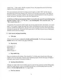 Writing A Research Proposal Apa