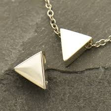 a1737 sv bead sterling silver triangle bead