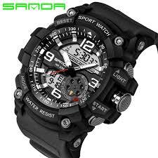<b>SANDA</b> 759 Sports Men'S Watches <b>Top Brand Luxury</b> Military ...