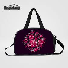 Mens Designer Duffle Bags Us 29 99 40 Off Dispalang Brand Designer Women New Travel Duffle Bags Geometric Patterns Girls Hand Luggage Weekend Bag Mens Casual Journey Bag In