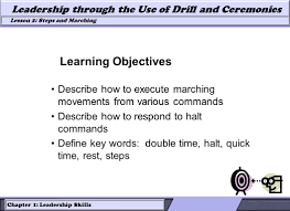 lesson roles of leaders and followers in drill leadership 6 chapter