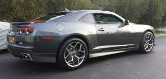 20 inch Staggered MRR 228 Z28 Replica Gloss Graphite on 2010 Chevy ...