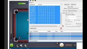 miniclip 8 ball pool with cheat engine
