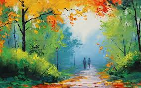most beautiful nature paintings painting lessons how to paint trees and bushes in oil painting you