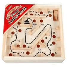 Wooden Maze Game With Ball Bearing Simple Ball Bearing Maze Puzzle Puzzles Games Puzzles