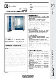 electrolux 268703 user s manual